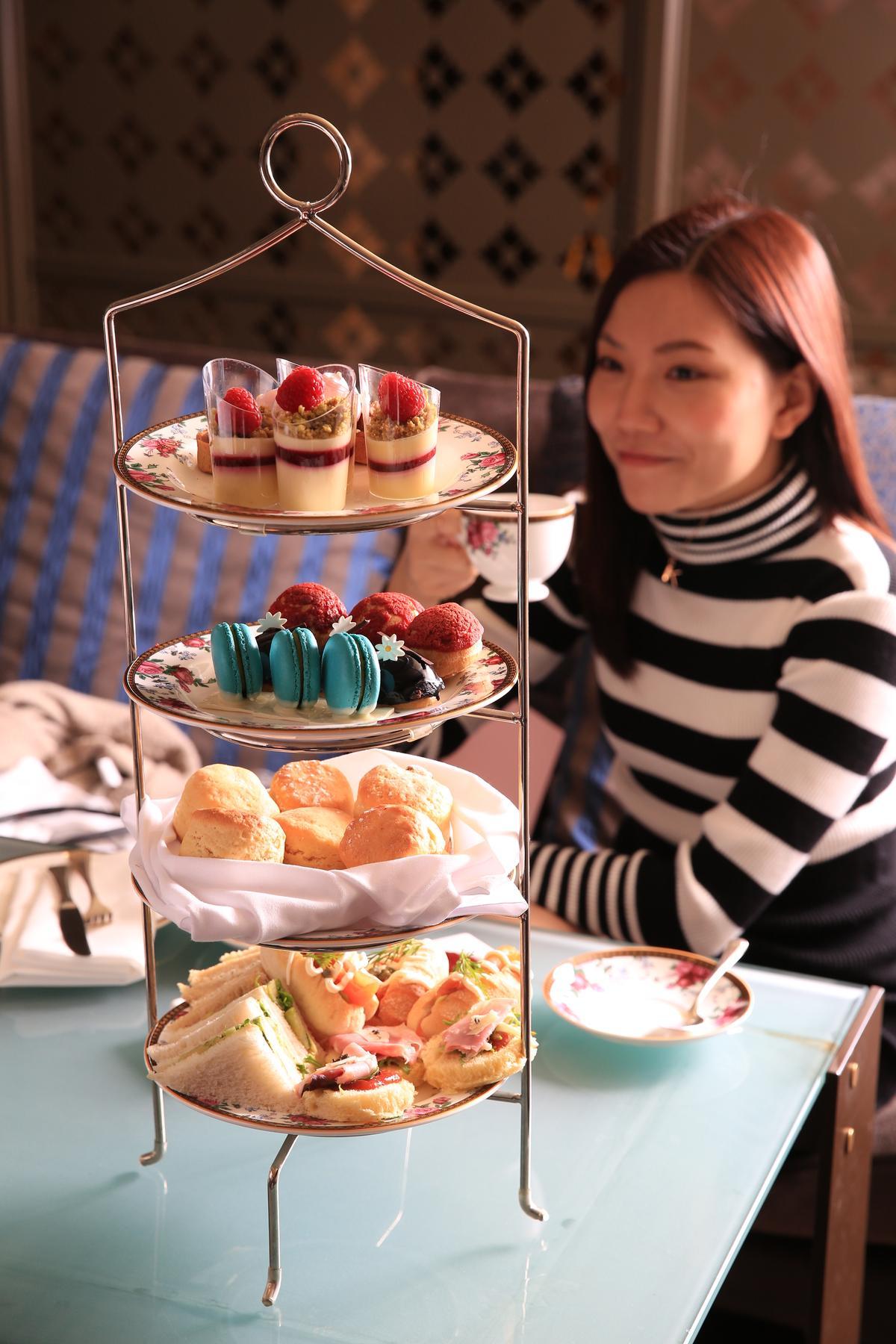 酒店裡的「ARIA Bar & Lounge」與Wedgwood合作的下午茶,還搭配氣泡酒或香檳,讓貴婦名媛趨之若鶩。(澳幣59元起/人,約NT$1,317)