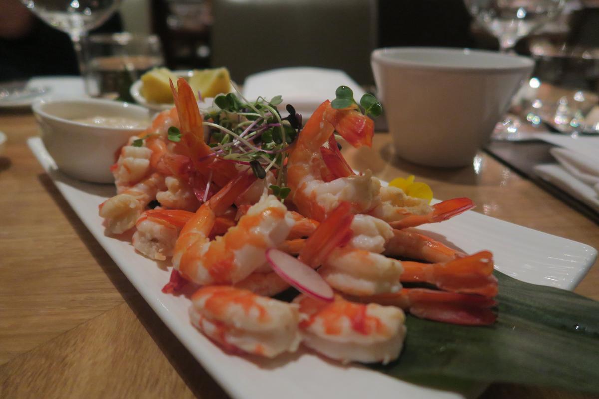 自助餐的蝦子非常新鮮,甜度超高。