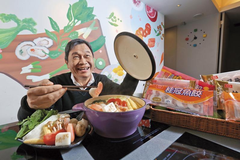 桂冠總經理王正明當年和三個哥哥共創桂冠,把父親的冷凍製冰廠轉型為冷凍食品加工公司,而今已是業界數一數二的知名品牌。