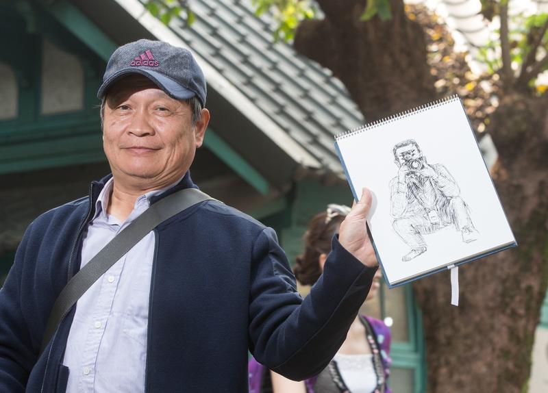 桂冠總經理王正明筆下的鏡週刊攝影記者。
