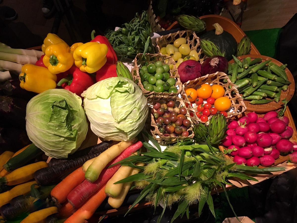 台灣夏季生產的蔬果種類、品種相當多樣。