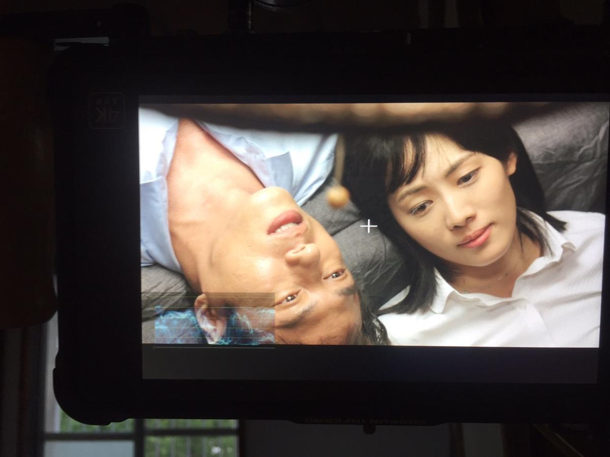 日籍女星柴本幸(右)在片中飾演莊凱勛的妻子,有吃重演出。