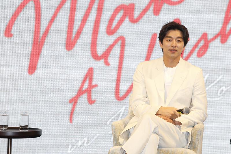 孔劉今年5月初特地到香港舉行粉絲見面會。(圖:東方IC)