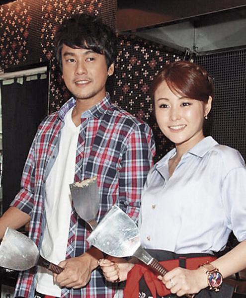 麻衣(右)跟朱孝天(左)的戀情,因為朱孝天在中國傳出偷沾李冰冰,導致2人分手。朱孝天現在另娶中國新娘韓雯雯。(翻攝自網路)