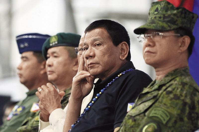 菲律賓除了毒品問題嚴重,南部民答那峨島的回教叛軍也讓杜特蒂很傷神。(東方IC)