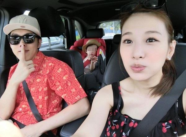 艾莉絲和日籍老公早已婚姻破裂,去年底才承認已經離婚。(翻攝臉書)