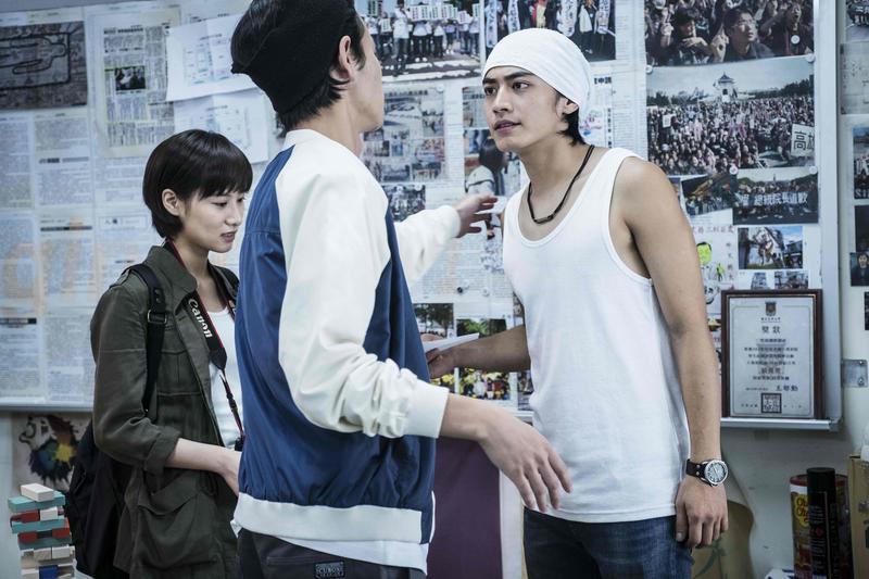 宋柏緯在戲中的角色充滿熱情與夢想。(左:胡廣雯)