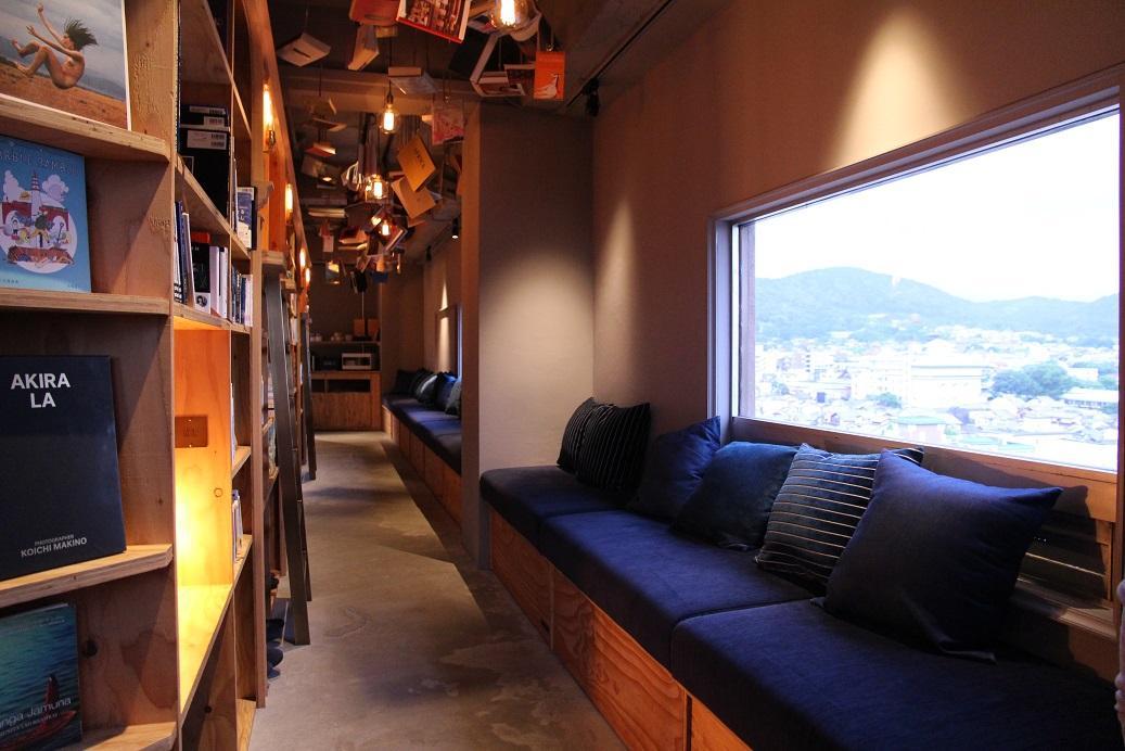 窗外就可以看見京都市區景觀。