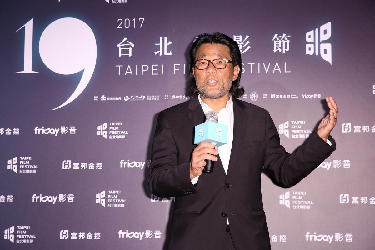 台北電影節主席李屏賓,期許活動成為台灣電影人的平台。