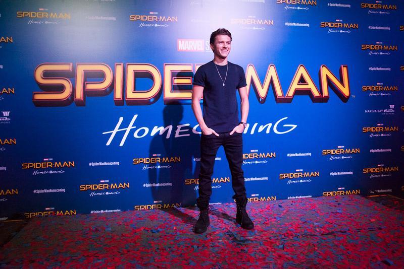 全新重啟電影版《蜘蛛人:返校日》主角湯姆霍蘭德雖然年僅21歲,演藝資歷已超過11年。 ( 索尼影業提供 )