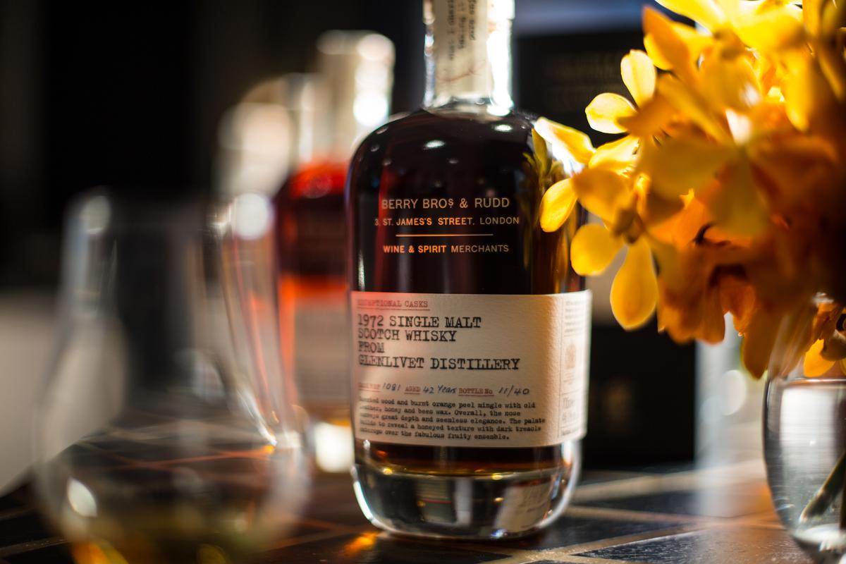 獨立裝瓶廠BBR推出珍稀威士忌系列,這瓶來自1972年格蘭利威酒廠的威士忌,已陳年42年。