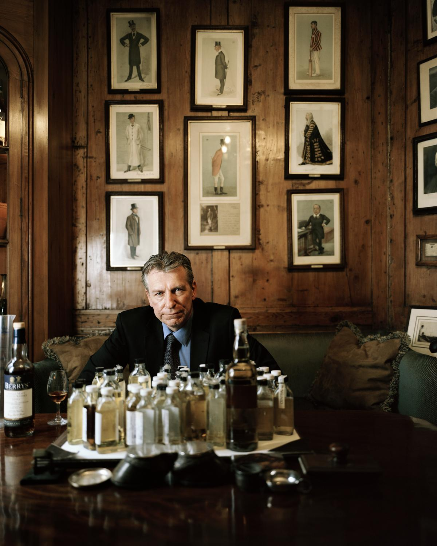烈酒部門負責人Doug McIvor以其挑剔的選酒品味成為BBR的靈魂人物。