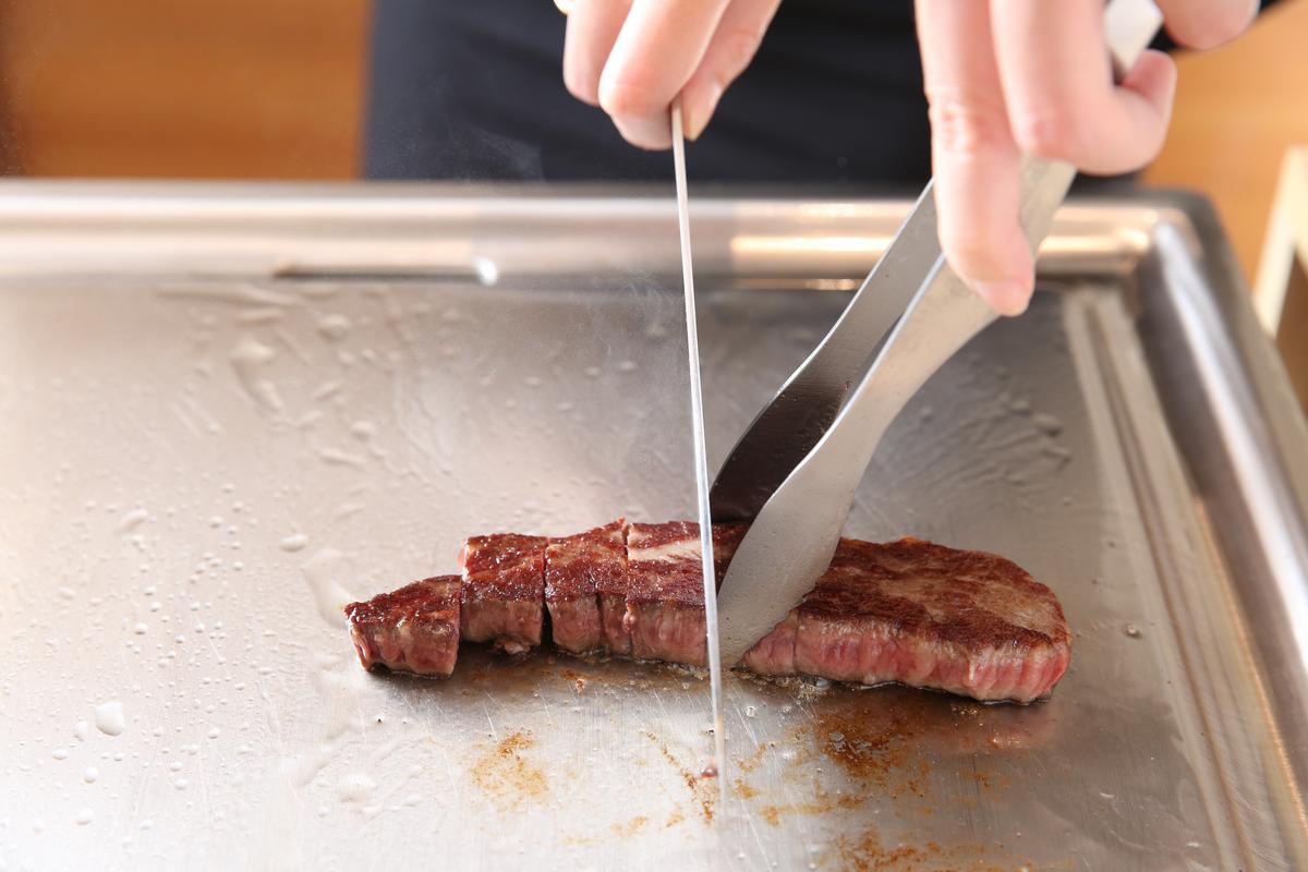 好牛肉加上自家提煉牛油香煎,香氣更上一層。