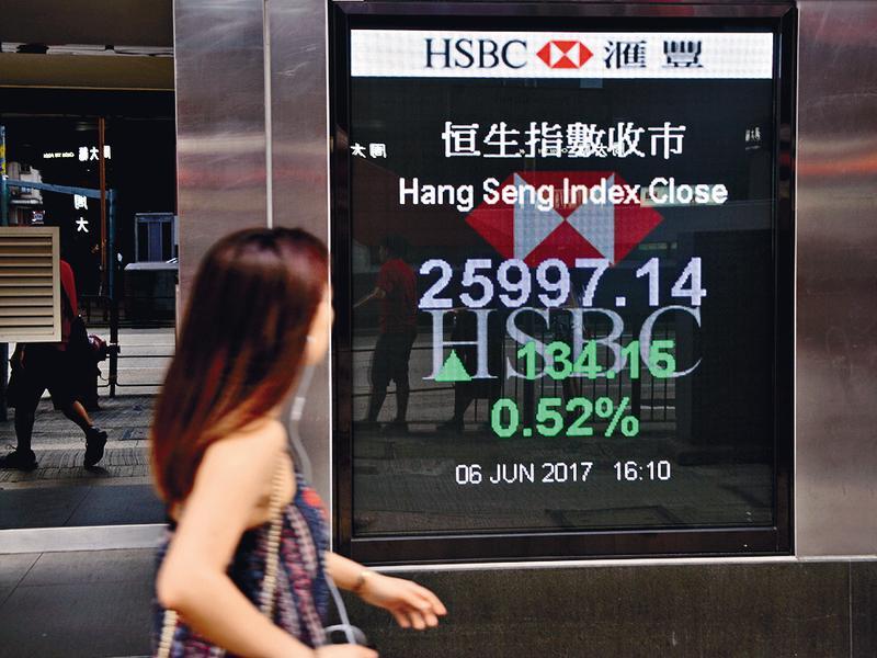 過去香港金融市場以高效、透明、開放、穩定聞名於世,如今卻不斷退步,國際資金挪移中,投資人只能順勢而為。(東方IC)