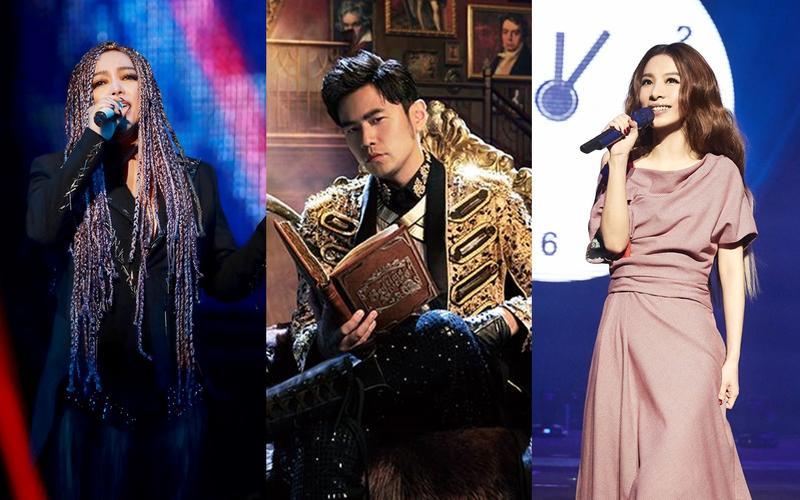 2017年下半年的演唱會精采可期,張惠妹、周杰倫、田馥甄輪番開唱。