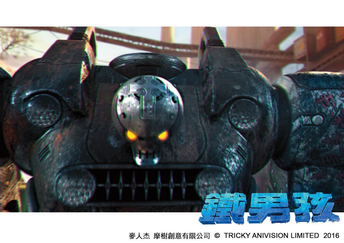 《鐵男孩》世界裡,各類型機器人在人類生活中扮演重要角色。