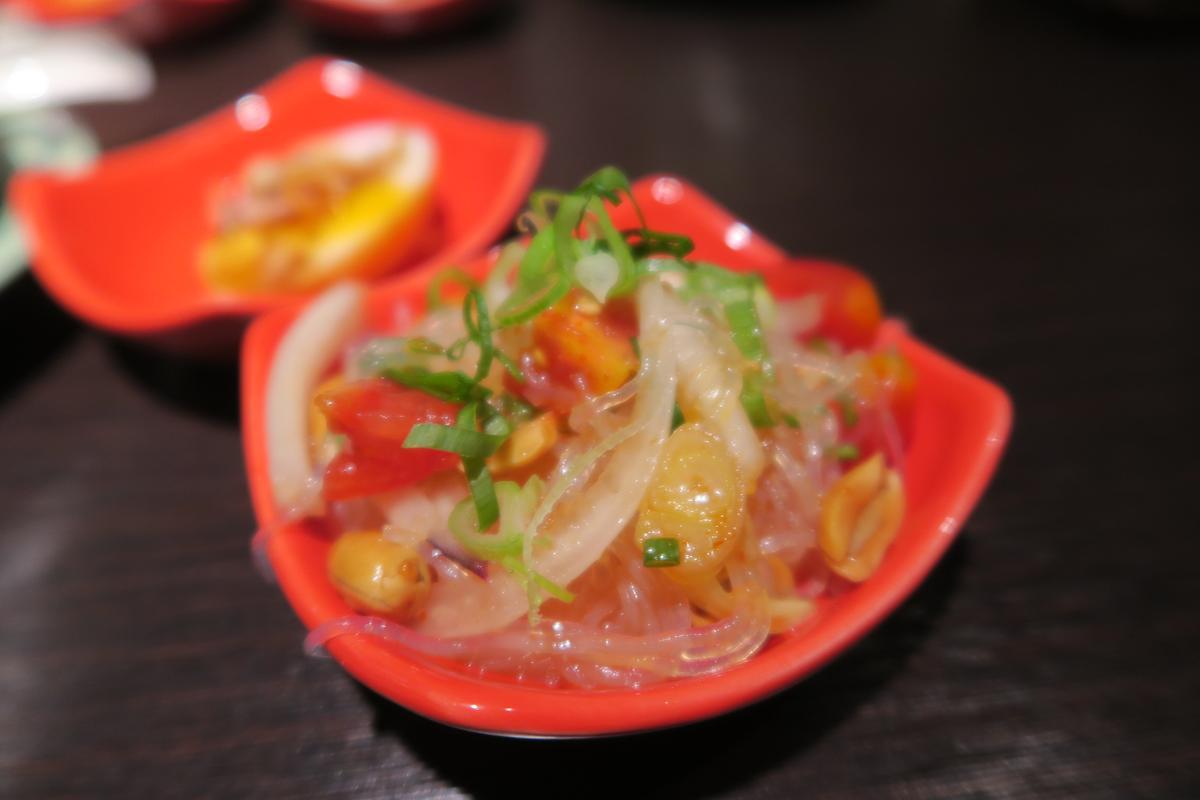 小菜的「泰式冬粉沙拉」表現出色。