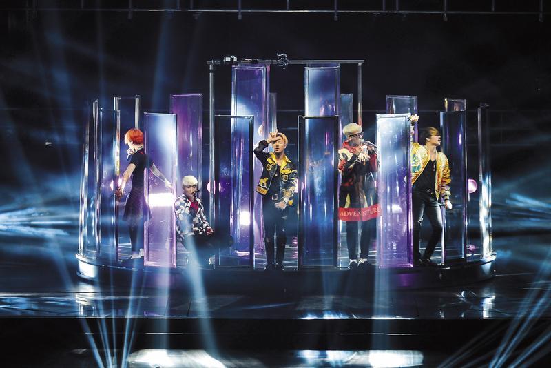 iMe主辦BIGBANG 2016年中國巡迴演唱會,創下5週內唱完8個城市、 23場的紀錄。(iMe提供)