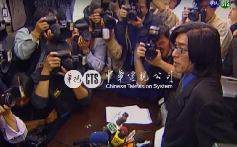 台灣第一份網路報《明日報》失敗告終,是詹宏志的創業生涯中最昂貴的學費。(翻攝自華視新聞)