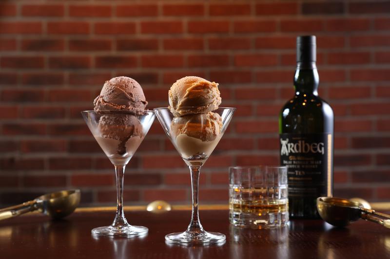 Ardbeg被封為艾雷島的「泥煤味怪獸」,勾搭義式冰淇淋,叫人意想不到合搭。