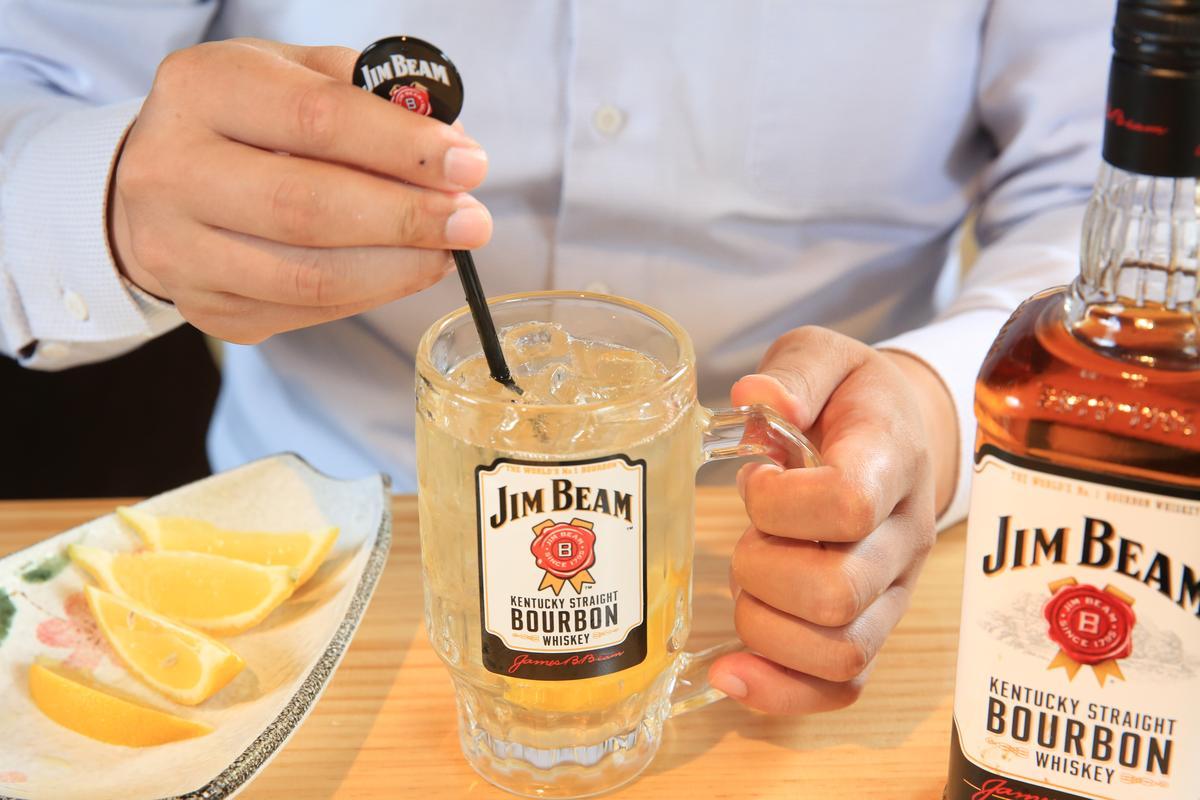 「Highball調酒」既保留烈酒的豐醇香氣,又有低酒精濃度的爽口感。