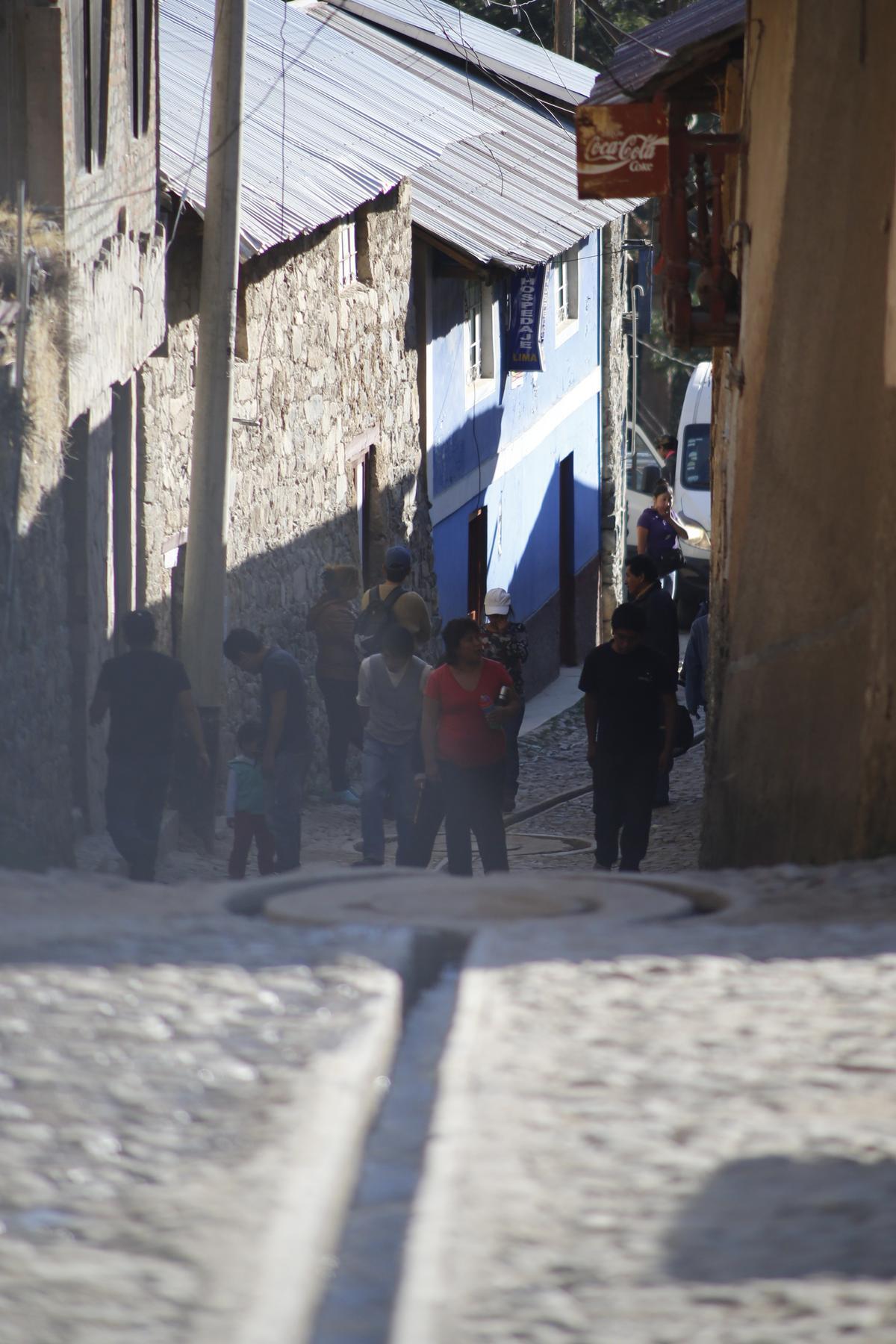 印加帝國遺留的古鎮,街上是西班牙移民後的石造街道。