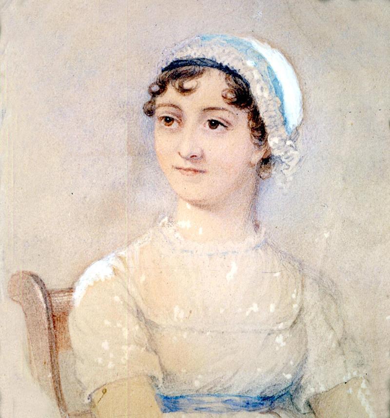 英國小說家珍奧斯汀(1775-1817)。(東方IC)