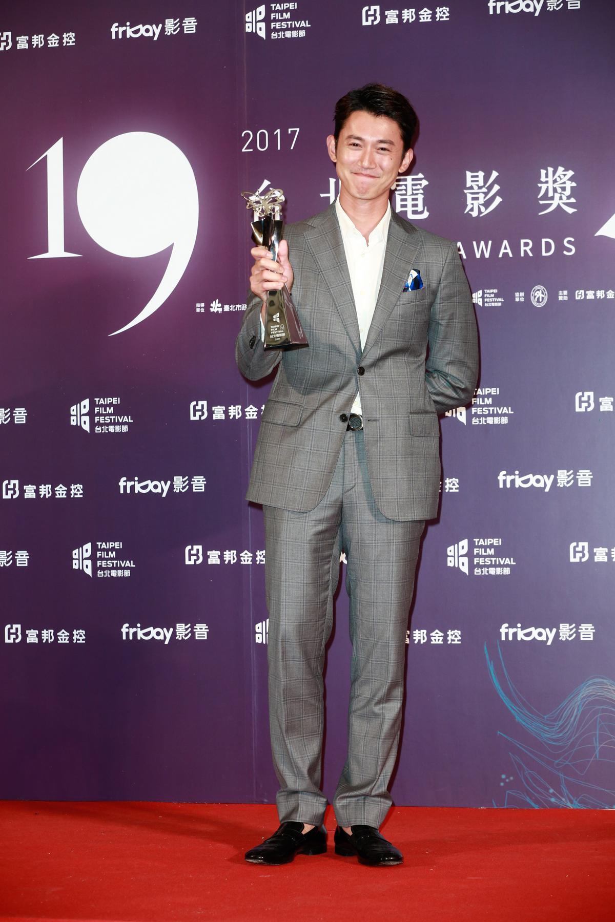 吳慷仁以《白蟻慾望迷惘》奪下最佳男主角獎。