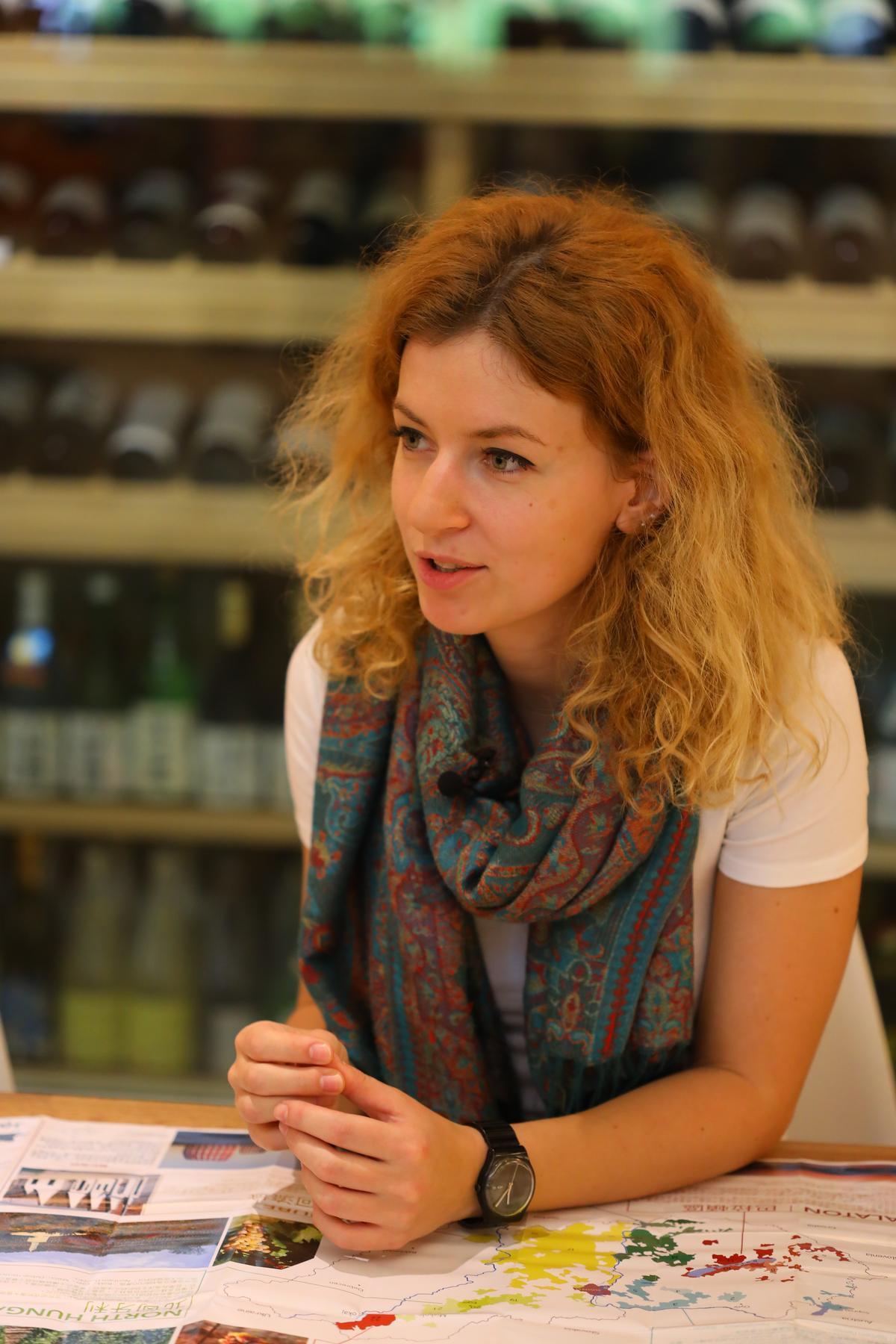 Kate的家鄉也在北匈牙利的Eger附近,所以對公牛血的歷史相當瞭解與自豪。