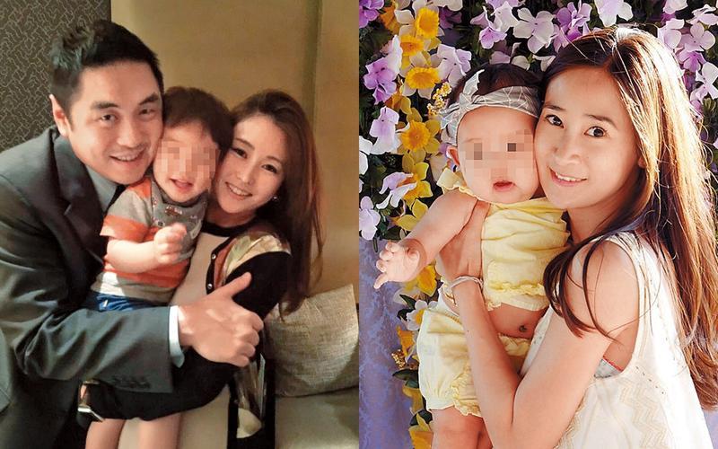王泉仁再婚的妻子麻衣(左)生了兒子,卻成深宮怨婦,反觀和他育有1女的李晶晶(右),雖然離婚離得風風雨雨,但如今看似已經放下。(翻攝自臉書、IG)