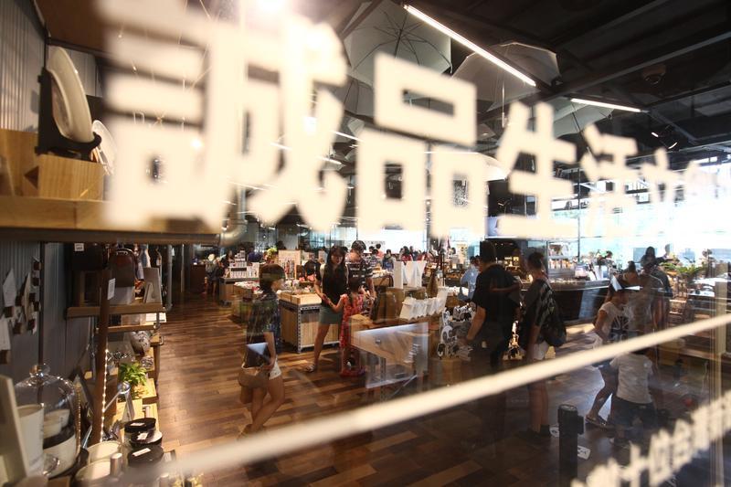 誠品為台灣文創產業寫下新的一頁,不少觀光客來台都慕名朝聖。