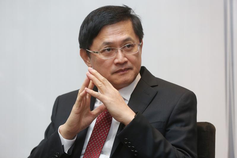 和碩董事長童子賢人在美國出差,聽聞吳清友過世相當震驚與難過。
