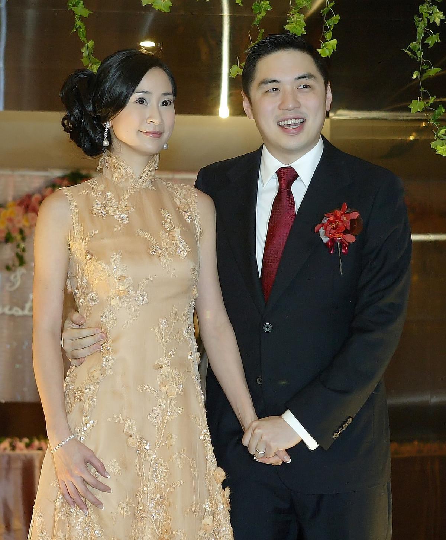 李晶晶2010年與台塑集團長孫王泉仁的婚禮,花費上千萬。(圖:東方IC提供)
