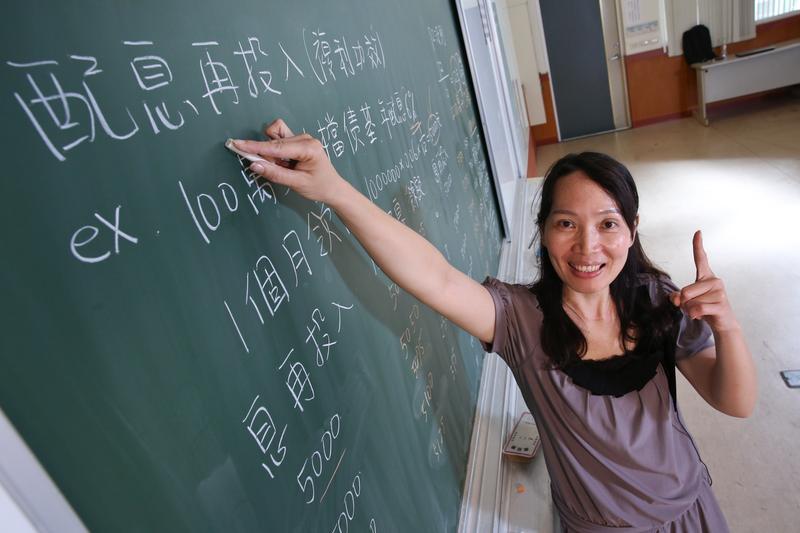 黃惠玲靠著投資理財多年的累積,去年為自己打造84萬元的驚人息收。