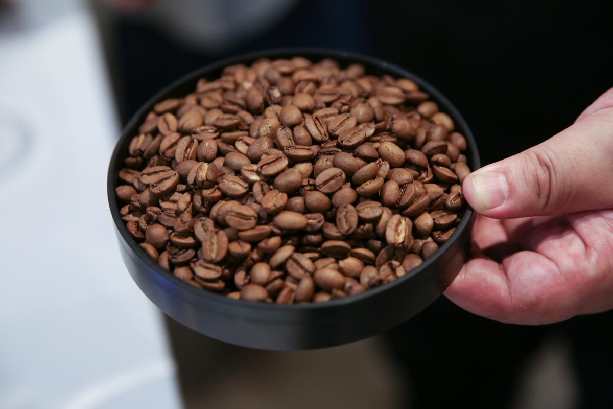 烘焙台灣豆時,James下手特別輕,以免焦苦蓋掉其中細緻悠遠的風味。