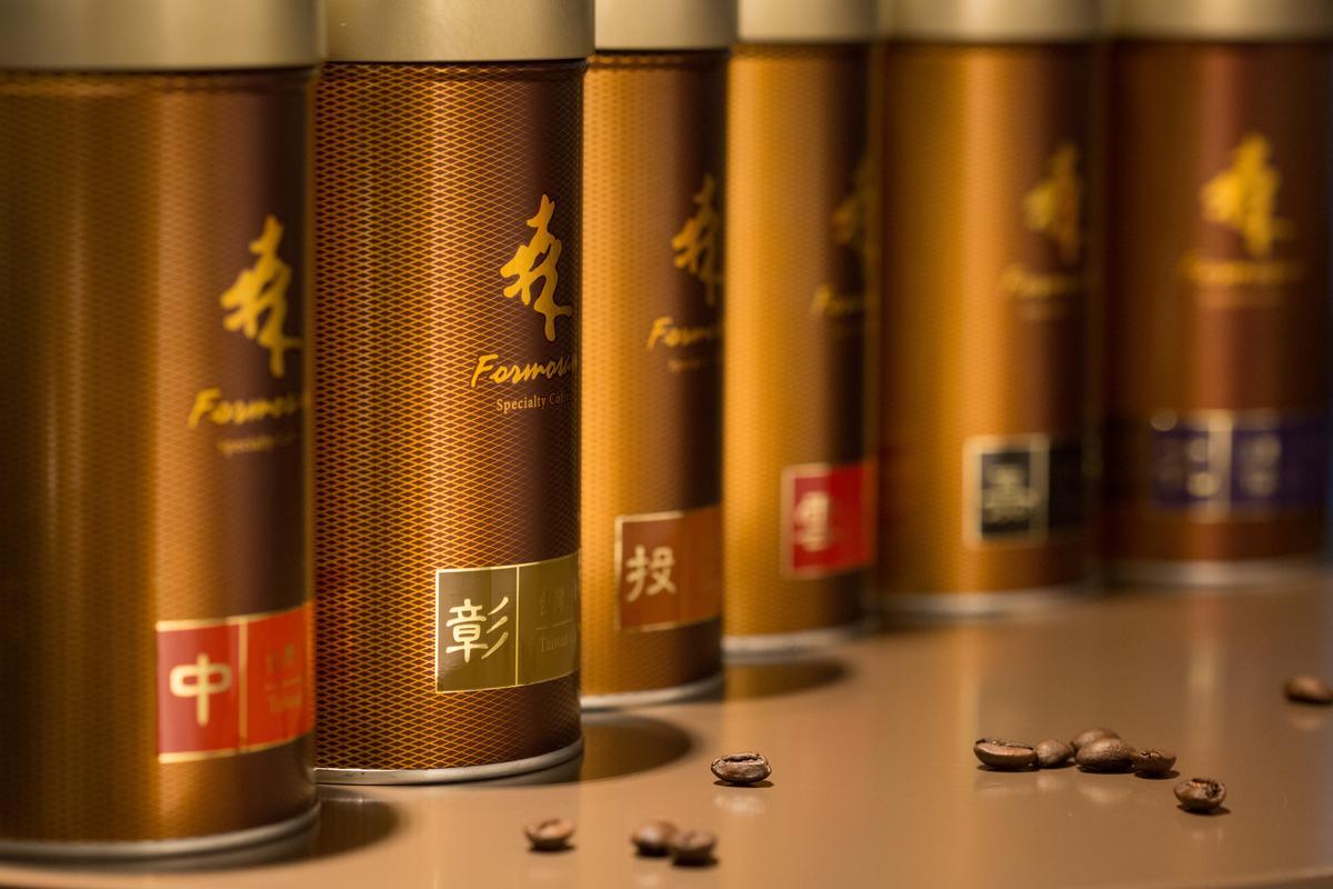 中彰投、雲嘉高屏、花蓮台東等全台各地咖啡豆「森高砂咖啡」都有。(700元~1300元/227g)