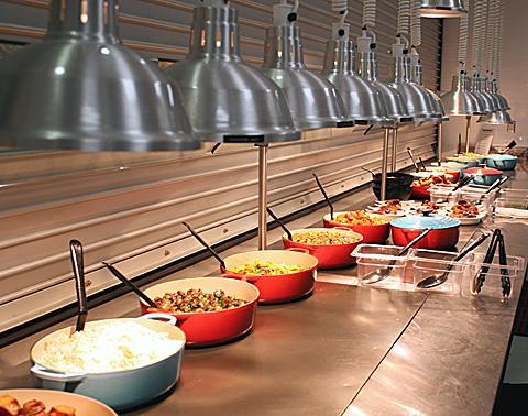 臉書舊總部帕羅奧圖(Palo Alto)的員工餐廳。(翻攝foodgal)