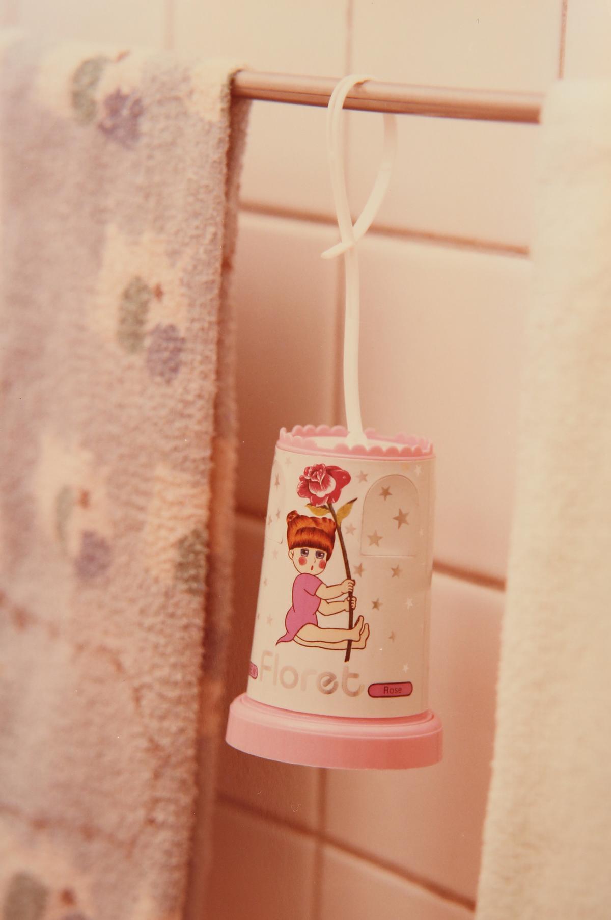 花仙子早期芳香劑商品,設計逗趣可愛。(花仙子提供)