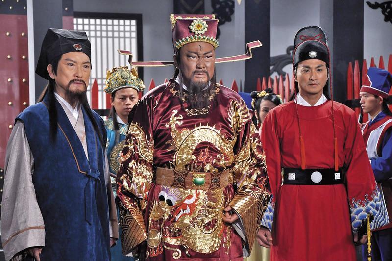 電視劇《包青天》成夯劇,捧紅金超群(中)、何家勁(右)、范鴻軒(左)等人。(翻攝自網路)