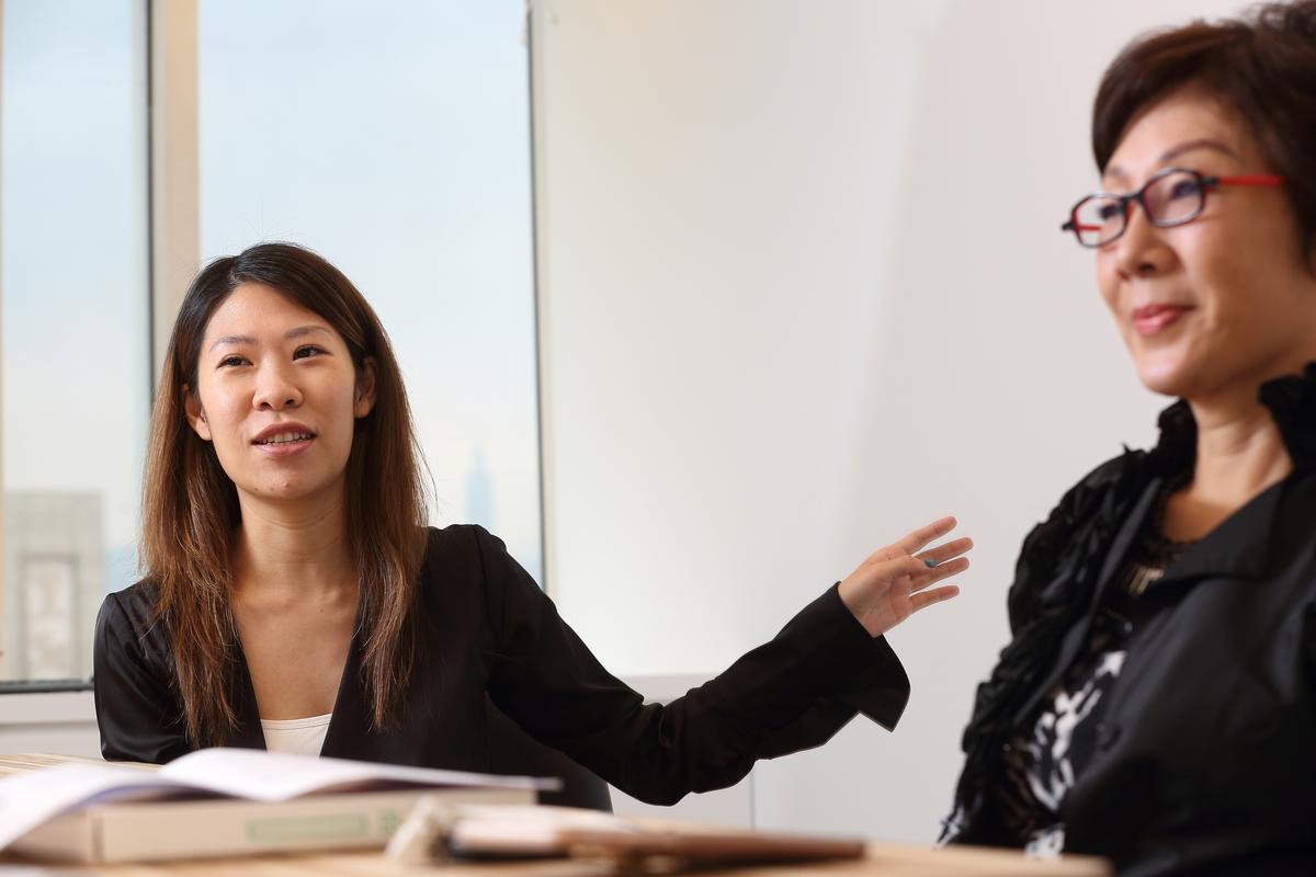 總經理王佳郁2年前升任總經理,為34年老品牌注入新活力,目標完成父親國際化遺願。