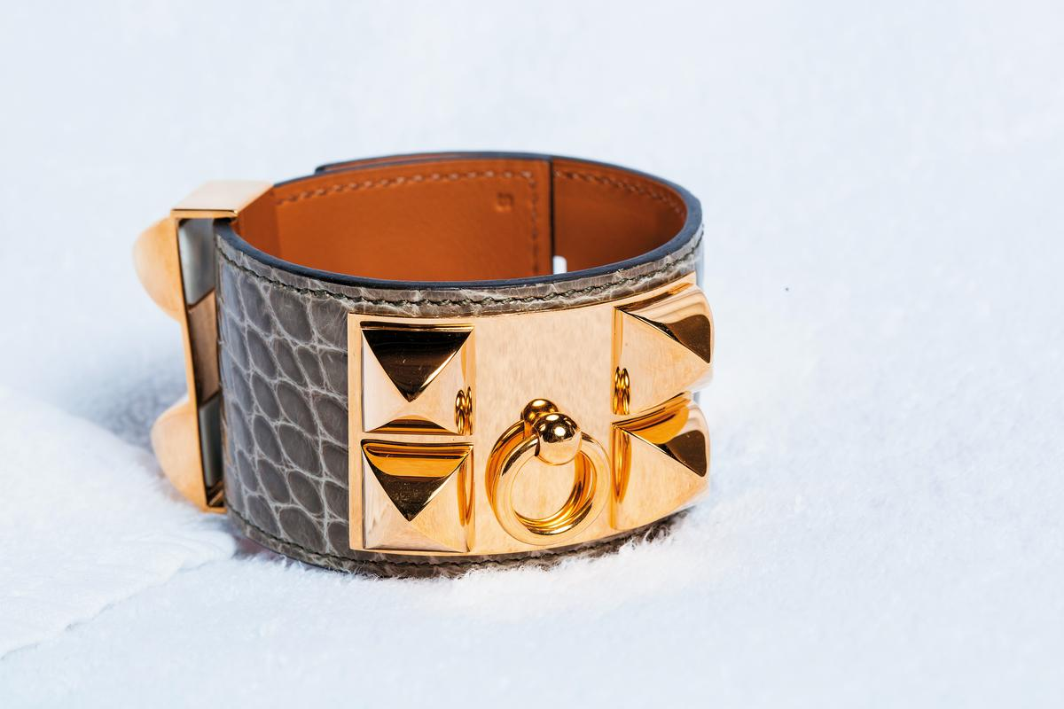 HERMÈS CDC手環。約NT$90,000