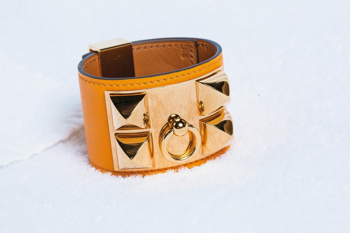 HERMÈS CDC手環。約NT$40,000