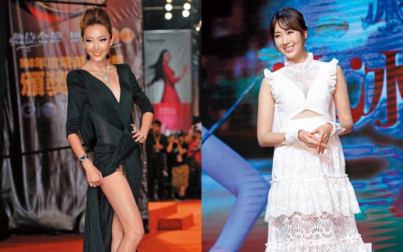 說要「保護心凌」的隋棠,2011年出席金鐘獎頒獎典禮卻疑似沒保護好自己的胯下,多間媒體懷疑她露毛。