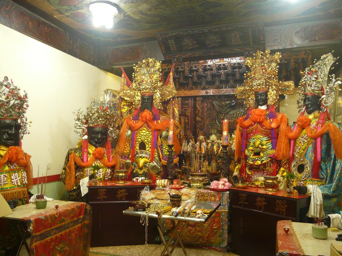 靈安社147年歷史的范謝將軍與文武二判官,已登錄為台北市無形文化資產。