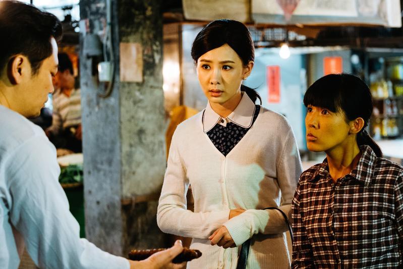安心亞最怕去市場,但為拍攝《五味八珍的歲月》也要提起勇氣向肉販走去。