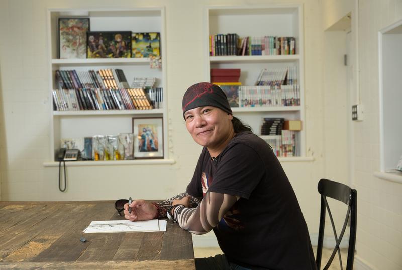 練任出道超過25年,在台灣漫畫環境不佳的情況下,轉向對岸發展,闖出一片天。