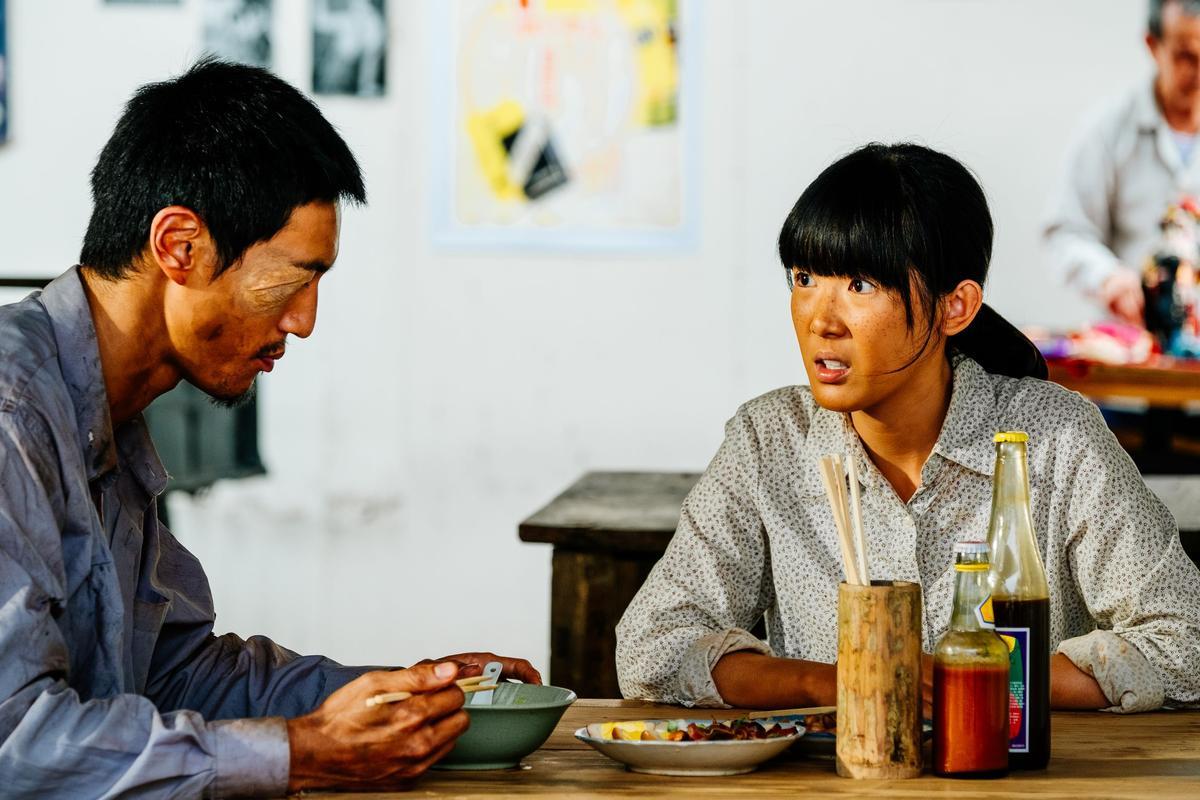 劇中和鍾承翰飾演「春孤CP」的孫可芳則感謝大家的熱烈支持。