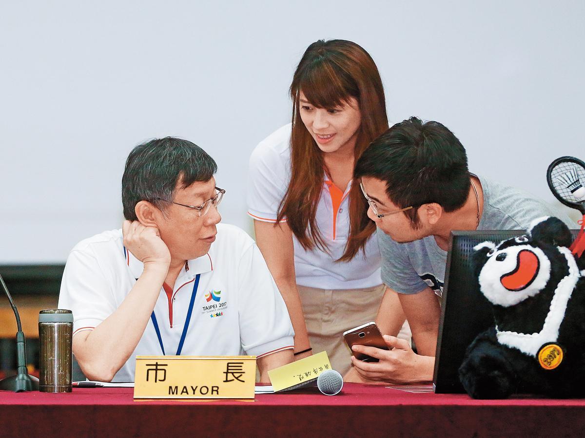 台北市府副發言人陳思宇,工作能力頗獲柯P讚賞。