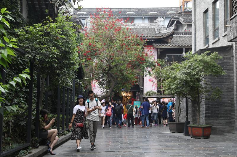 成都多次蟬聯中國宜居城市第一名,城市新舊文化兼容並蓄,綠化充足。但,這是別人看見的成都。
