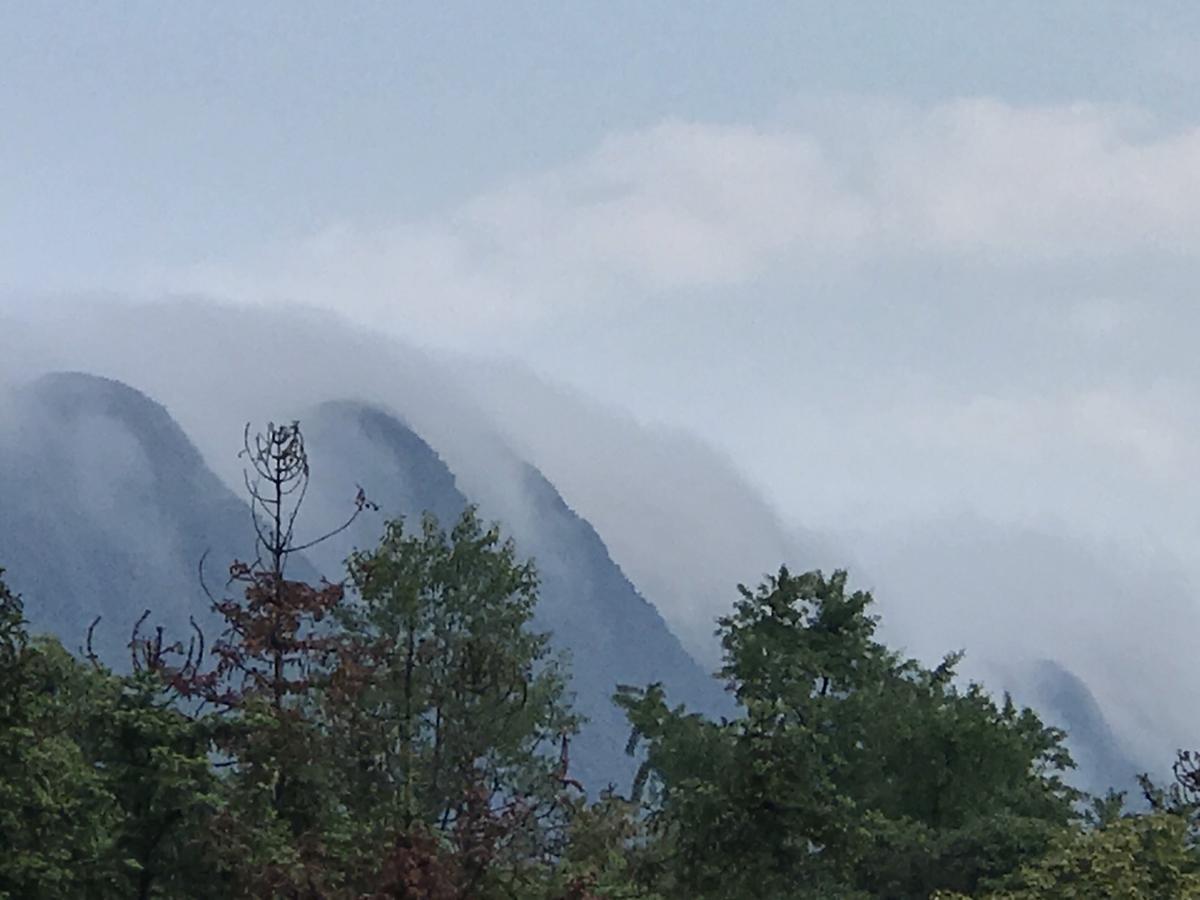這是別人看見的雅安。雅安山水秀麗,猶如一幅幅中國山水畫。